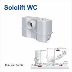 Cụm bơm cắt rác Grundfos Sololift2 C - 3 (640W)